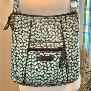 2 For $20 Vera Bradley Turquoise & Brown Purse